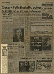 Ad Amarcord mancava solo l'Oscar  10 aprile 1975