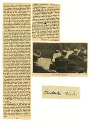 Musica. 'Minnie la candida' di Riccardo Malipiero jr. e 'Ariodante' di Nino Rota  [28 novembre 1942]