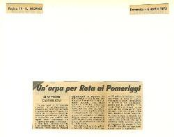 Un'arpa per Rota ai pomeriggi  06 aprile 1975