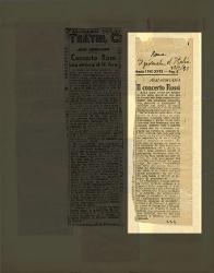 Il concerto Rossi  [20 febbraio 1940]