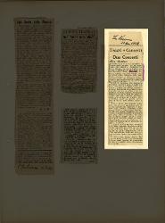 Due Concerti alla 'Dante'  [20 aprile 1938]