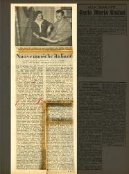 Nuove musiche italiane  [04-10 marzo 1951]