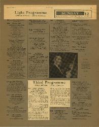 Third Programme. 'I due timidi'  10 agosto 1951