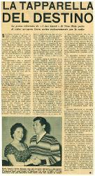 La tapparella del destino  : La prima televisiva de 'I due timidi' di Nino Rota porta al video un'opera lirica scritta esclusivamente per la radio s.d.