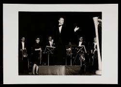 positivo Nino Rota presenta l'arpista solista Elena Zaniboni, 12 dicembre 1972