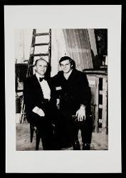 positivo Nino Rota e un'altra persona, 12 dicembre 1972