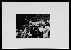 materiale vario Nino Rota dirige la Royal Philharmonic Orchestra alla Royal Albert Hall a Londra, 13 ottobre 1973