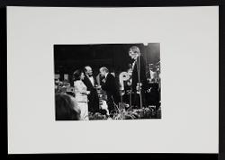 positivo Nino Rota nella Royal Albert Hall a Londra, 13 ottobre 1973