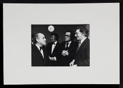 materiale vario Nino Rota con Michael Parkinson e Michel Legrand, 13 ottobre 1973