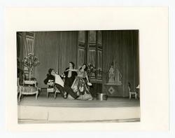 positivo Foto di scena: Alfredo Mariotti, Ottavio Garaventa e Clara Betner, 20 febbraio 1965
