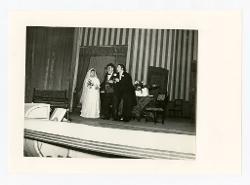 positivo Foto di scena: Rosalina Neri, Alfredo Mariotti e Ottavio Garaventa, 20 febbraio 1965