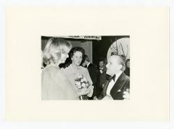 positivo Nino Rota, la regina del Belgio Paola Ruffo di Calabria e un'altra persona, 06 marzo 1976