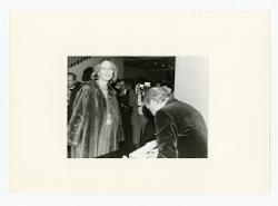 positivo Nino Rota e la regina del Belgio Paola Ruffo di Calabria, 06 marzo 1976