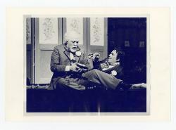 positivo Foto di scena: David Ward e Ragnar Ulfung, 17 agosto 1977