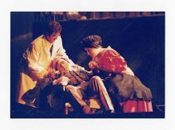 positivo Foto di scena: Pierluigi Lazzari, Gustavo Porta e Rosa Sabrina Antona, 14 giugno 2000 - 16 giugno 2000