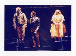 positivo Foto di scena: Gustavo Porta, Pierluigi Lazzari e Rosa Sabrina Antona, 14 giugno 2000 - 16 giugno 2000
