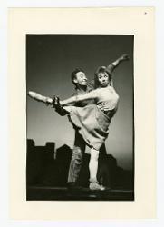 positivo Foto di scena: Mario Pistoni e Carla Fracci, 03 settembre 1966