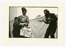 positivo Foto di scena: Mario Pistoni e altre due persone, 03 settembre 1966