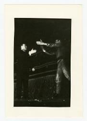 positivo Foto di scena: Nino Rota e Mario Pistoni, 03 settembre 1966