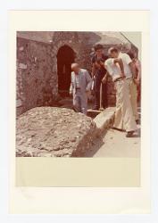 positivo Nino Rota e altre persone, 1974