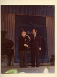 positivo Nino Rota e Daniele Piombi, 1979 ca.