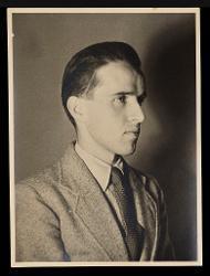 materiale vario Ritratto di Nino Rota, [anni '30]