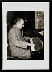 materiale vario Nino Rota al pianoforte, [anni '70]