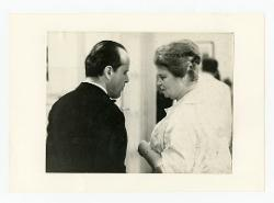 positivo Nino Rota e un'altra persona, [anni '50 - '60]