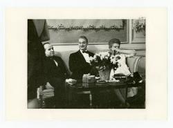 positivo Nino Rota e altre due persone, [anni '50 - '60]