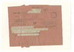 [Prospero] Milella a Giovanni [Nino] Rota - Roma, Bari 25 ottobre 1945