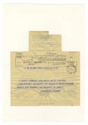 [Michele] D'Erasmo a Giovanni [Nino] Rota, Bari 12 settembre 1950