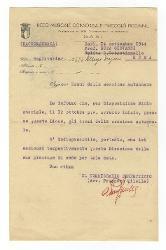 Prospero Milella a Giovanni [Nino] Rota, Bari 14 settembre 1944