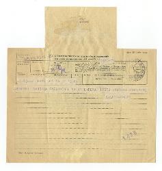 [Vitantonio Barbanente] a Nino [Rota], Bari 25 ottobre 1955