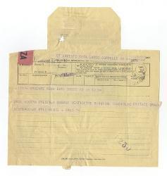[Vitantonio Barbanente] a [Nino] Rota, Roma - Bari 26 ottobre 1955