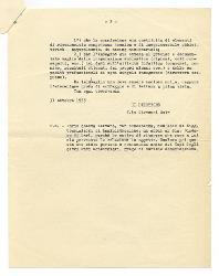 Giovanni [Nino] Rota a Vitantonio Barbanente 31 ottobre 1955