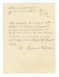 [Nino Rota] a [Vitantonio Barbanente], Roma 23 novembre 1955