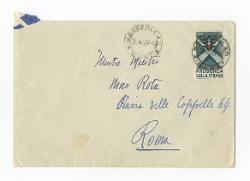 Vitantonio Barbanente a [Nino Rota], Monopoli 25 agosto 1957