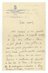 Vitantonio Barbanente a [Nino Rota] 15 marzo 1955
