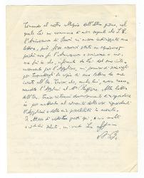 Nino Rota a [Vitantonio Barbanente?], Roma 23 ottobre 1961