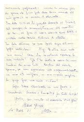 Giuseppe Bilardo a [Nino Rota], Matera 20 dicembre 1965