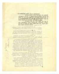 [Nino Rota] a Nicola De Pirro, Roma 3 novembre 1954
