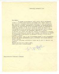 Eugenio Bagnoli a [Nino Rota], Venezia 3 novembre 1956