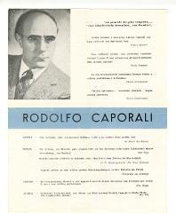 Rodolfo Caporali a [Nino] Rota, Roma 3 luglio 1957