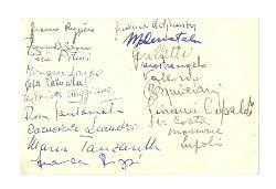 Franco Ruggiero e Myriam Longo a [Nino Rota] 11 giugno 1958