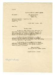 [Mittente non identificato] a Nino Rota, Roma 10 gennaio 1961