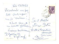 Guerrino M. Viglienghi a Nino Rota, Lodi 18 ottobre 1960