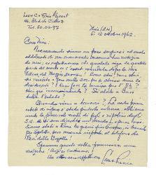 Leon C. Renée Algrant a Nino [Rota], Nizza 12 ottobre 1962