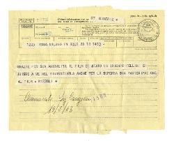 Rizzoli Editore a Nino Rota 18 febbraio 1963