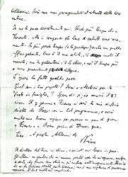 Nino [Rota] a Titina [Rota], Bari 12 dicembre 1939