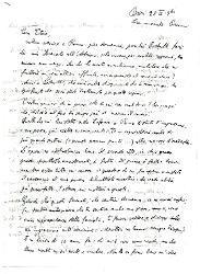Nino [Rota] a Titina [Rota], Bari 28 marzo 1940